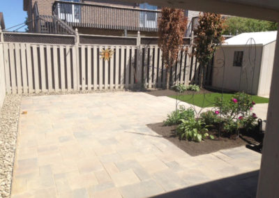 Backyard Paving and Landscaping