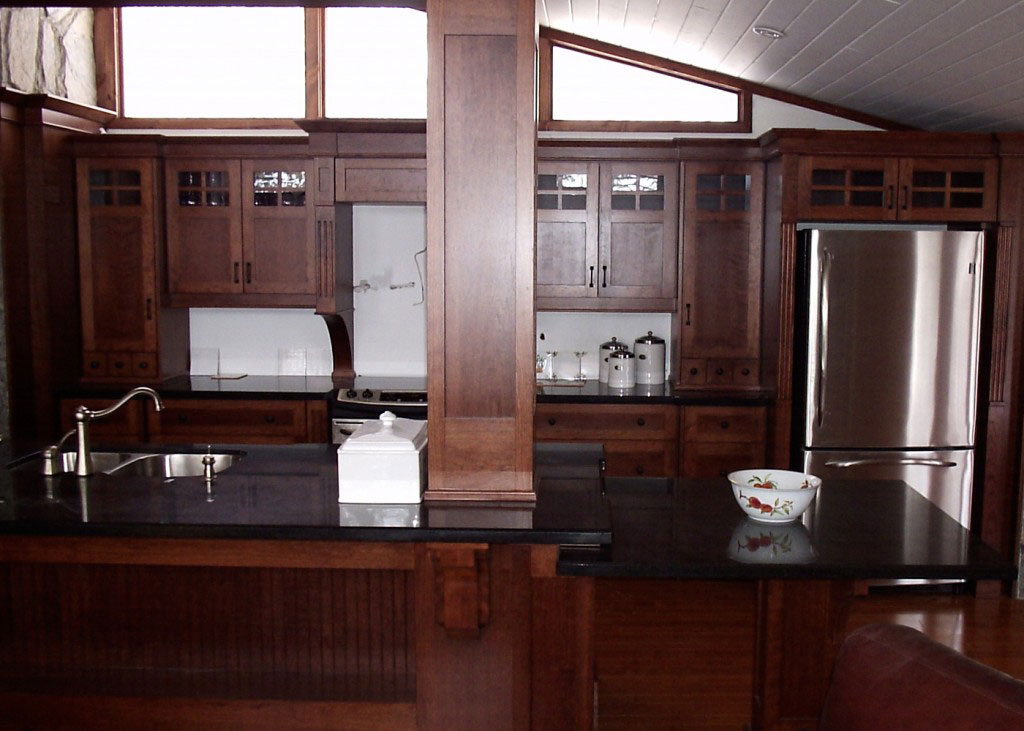 Cottage Kitchen Renovation Muskoka