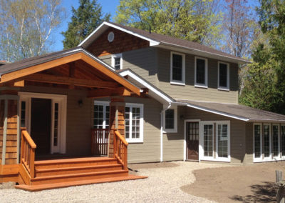 Cottage Renovation Haliburton
