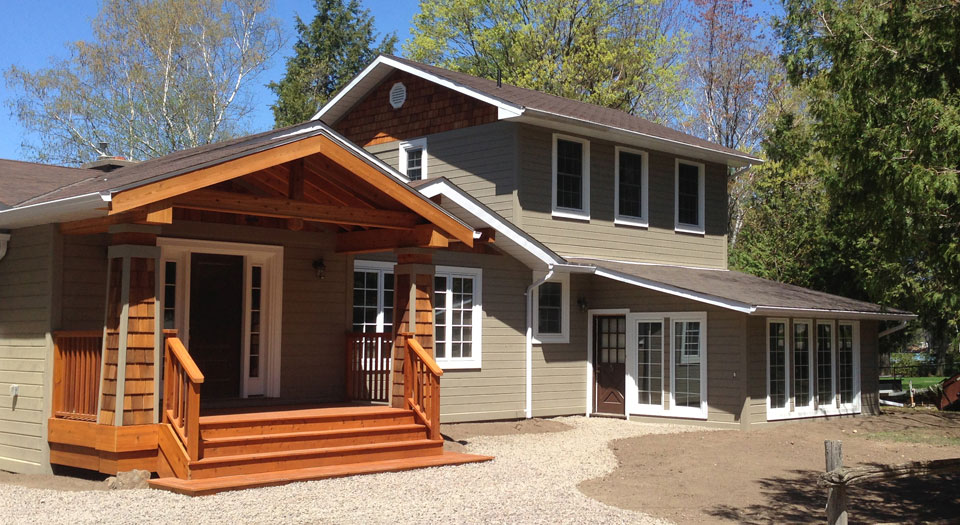 Cottage Renovation Haliburton