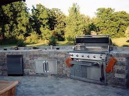 Custom Barbeque Pit Installation
