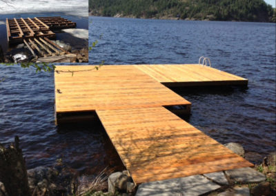Dock Builder Haliburton