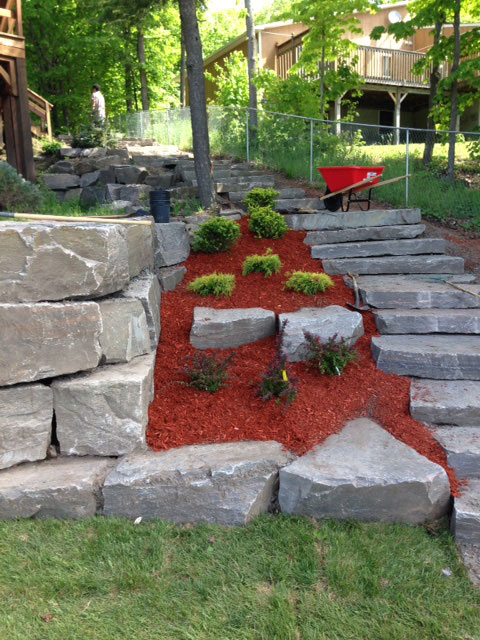 Hard and soft landscaping services luxury home builds for Home and garden services