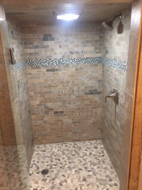 Cottage Shower Renovation